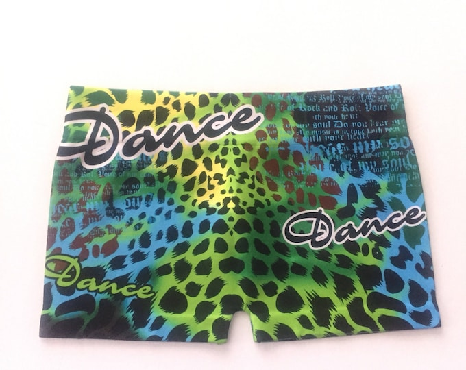 Cheetah Dance Shorts