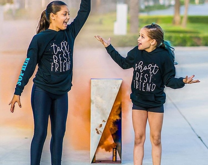 Short and Tall Best Friend Sweatshirt