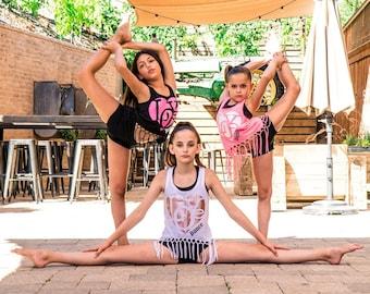 Girls Love Dance Tank,dancewear,dance tank,dancewear,dance shirt,girls dancewear,dance gift,personalized,free shipping,clothing gift,custom,