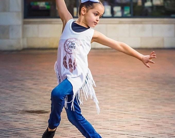 Tap tank,Tap Vibes,dancewear,dance tank,dancewear,dance shirt,girls dancewear,dance gift,personalized,free shipping,clothing gift,custom,dan