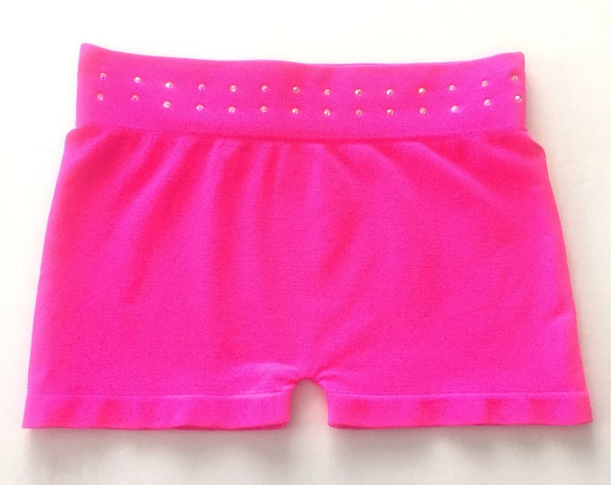 Rhinestone Dance Shorts