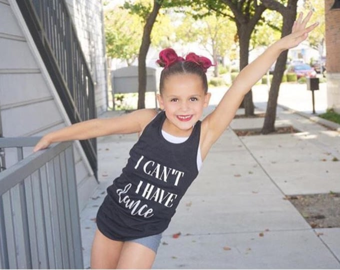 I Cant I Have Dance Tank