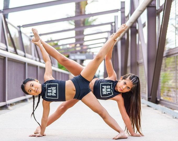 Girl Power High Neck Top