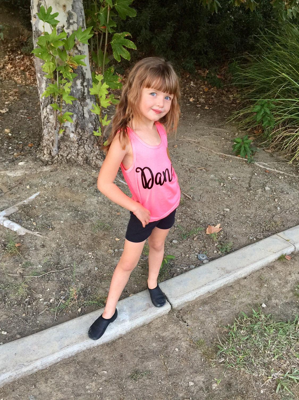 639e0459a36 Girls dance tank