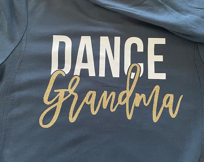 Glitter Grandma Zip Up Sweatshirt