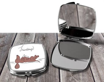Double Mirror Compacts