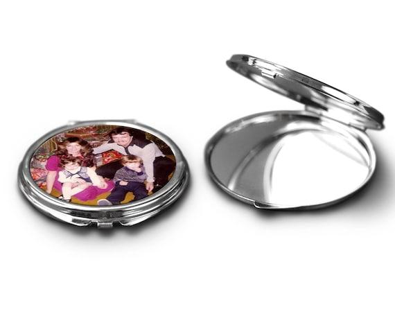 Photo Compact Mirror