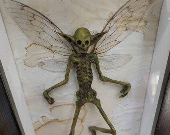 Mummified Fairy / FRAMED POSITION