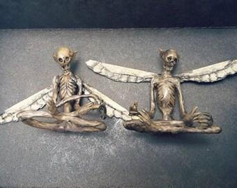 Mummified Fairy #3 / SITTING POSE