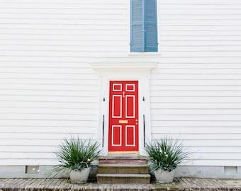 Red door on Ladson
