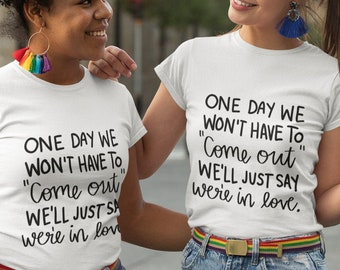 One day we wont have to Short-Sleeve Unisex T-Shirt
