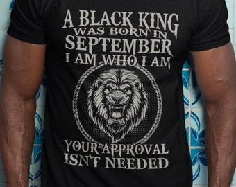 A Black King Short-Sleeve Unisex T-Shirt