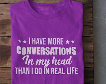 I have more Conversations Short-Sleeve Unisex T-Shirt