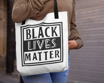 Black Lives Matter Tote Bags In Three Sizes
