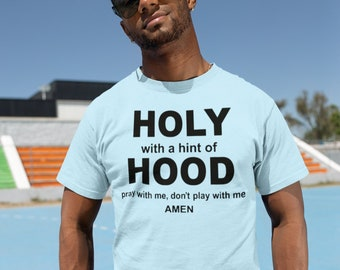 Holy but with a hint of Hood Short-Sleeve Unisex T-Shirt