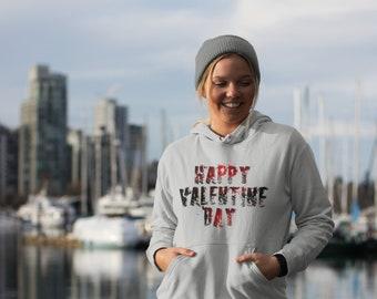 Happy Valentine Day Hoodie Sweatshirt