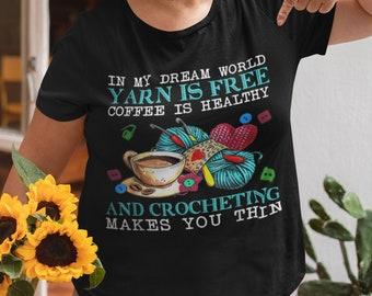 In my Dream World Short-Sleeve Unisex T-Shirt