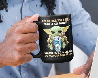 Let Me Pour You A Tall Black 15oz Coffee Mug
