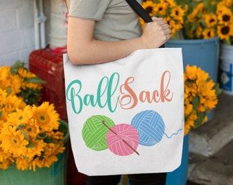 Ball Sack Tote Bags Three Sizes