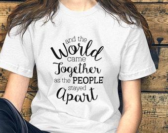 And the World Short-Sleeve Unisex T-Shirt