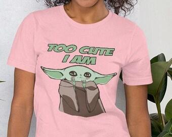Too Cute I am  Short-Sleeve Unisex T-Shirt