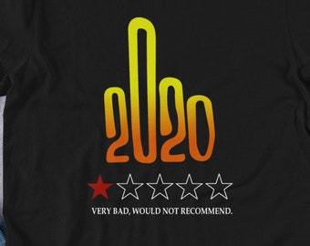 2020 Very Bad Dont recommend Short-Sleeve Unisex T-Shirt