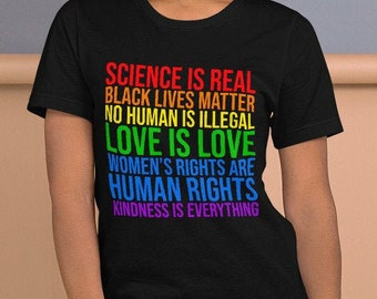 Science is Real Short-Sleeve Unisex T-Shirt
