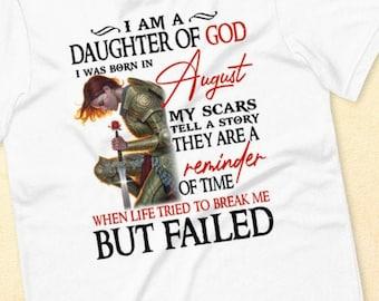 I am a Daughter of God Short-Sleeve Unisex T-Shirt