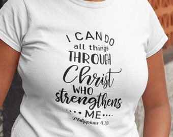 I Can Do All Things Tee