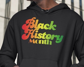 Black History Month Unisex Hoodie