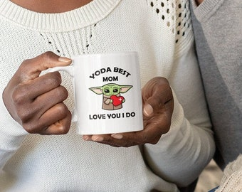 Customize Yoda Best Coffee Mug