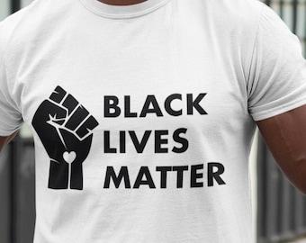 Fist Black Lives matter Unisex Short Sleeve T-Shirt