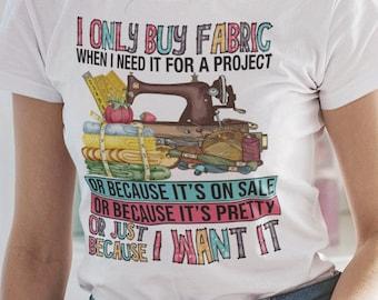 I only Buy Fabric Short-Sleeve Unisex T-Shirt