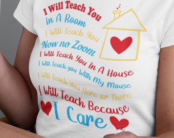 I will teach you Short-Sleeve Unisex T-Shirt