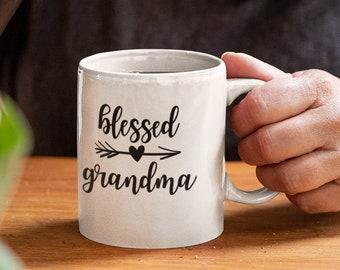 Blessed Grandma  15oz White Coffee Mug