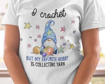 I Crochet Short-Sleeve Unisex T-Shirt