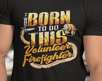 Crew Neck I Was Born To Do This Unisex T Shirt