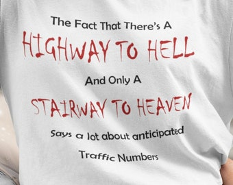 Highway to Hell Short-Sleeve Unisex T-Shirt