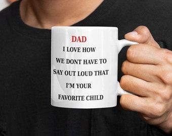 Dad I Love How we Coffee Mug