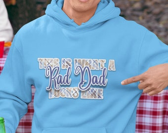 This is What a Rad Dad Unisex Hoodie