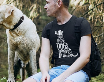 Time spent with Dogs Short-Sleeve Unisex T-Shirt