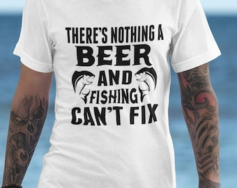 Theres Nothing a Beer Short-Sleeve Unisex T-Shirt