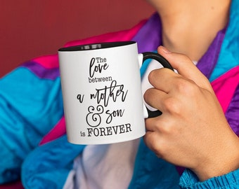 The Love Between Mug with Color Inside