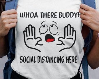 Whoa There Buddy Short-Sleeve Unisex T-Shirt