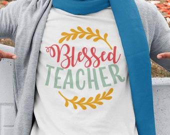 Blessed Teacher Unisex Short Sleeve T-Shirt