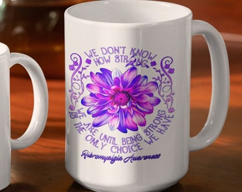 We dont know how strong White glossy coffee mug