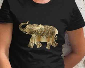 Golden Elephant Unisex Short Sleeve T-Shirt