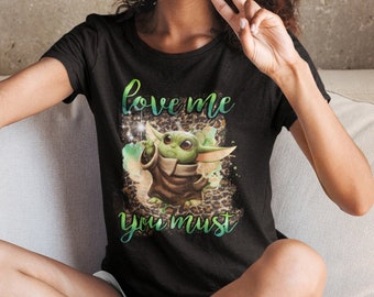 Love me you must Unisex Jersey Short-Sleeve T-Shirt