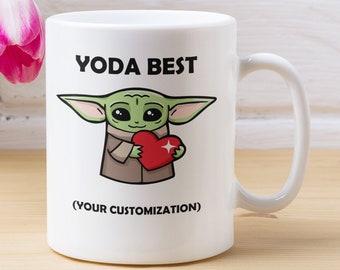 Personalizable Yoda Best Coffee Mug