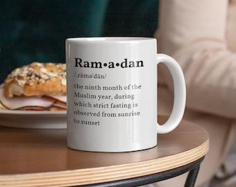 Ramadan White glossy mug
